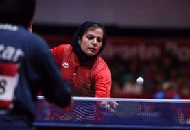 پایان کار زنان پینگپنگ ایران در قطر/ حذف ندا شهسواری از تور جهانی تنیس روی میز