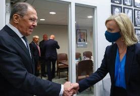 تاکید وزرای خارجه انگلیس و روسیه بر ضرورت بازگشت ایران به مذاکرات وین