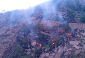 آتش جنگل های درازنو گلستان پس از ۲۴ ساعت بحرانی تر شد