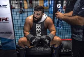 امیر علی اکبری مبارز هنرهای رزمی ترکیبی (MMA) ناک اوت شد