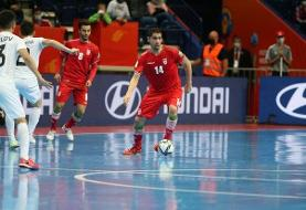 ایران ۹ - ازبکستان ۸؛ صعود سخت تیم ملی فوتسال به مرحله یک چهارم