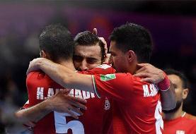 واکنش AFC به پیروزی تیم ملی فوتسال ایران برابر ازبکستان