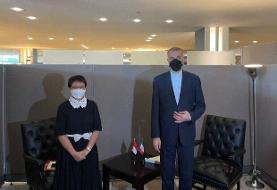 وزیر امور خارجه: روابط با آسیا از اولویتهای اصلی دولت ایران است