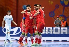 اعلام زمان بازی تیم ملی فوتسال مقابل قزاقستان