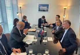 امیرعبداللهیان خطاب به وزیرخارجه فرانسه: در جدیت دولت بایدن در بازگشت به برجام تردید داریم