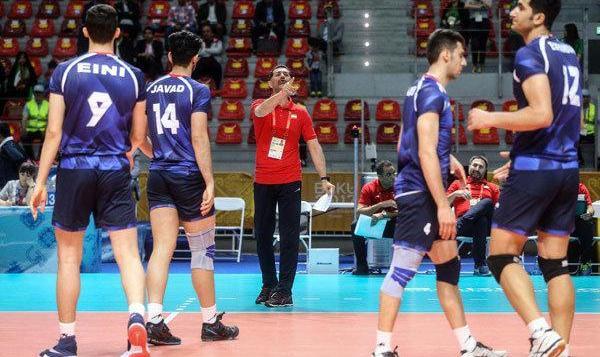 شکست عجیب جوانان والیبال ایران مقابل بلژیک