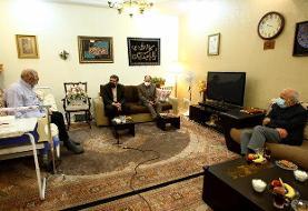 وزیر ارشاد به عیادت جمال شورجه رفت