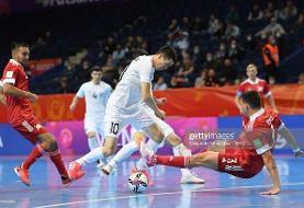 برنامه بازیهای پایانی مرحله یکچهارم نهایی جام جهانی فوتسال