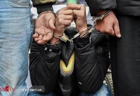 انهدام باند سارقان مسلح در تهران