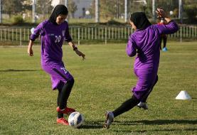 ضربات پنالتی تیم ملی بانوان ایران در برابر اردن (فیلم)