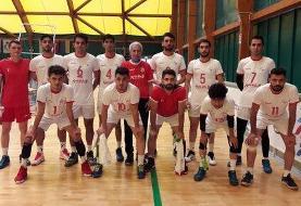 شکست تیم والیبال ناشنوایان مقابل ایتالیا