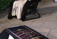 قرائت نماز رهبر انقلاب بر پیکر آیتالله حسنزاده آملی
