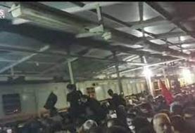 یک کشته و ۴۰ زخمی در تجمع زائرن در شلمچه / سرگردانی زائران اربعین (فیلم)