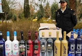 انهدام باند قاچاقچیان مشروبات الکلی در پاوه