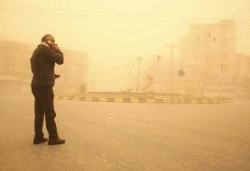 تهران غرق گرد و غبار شدید میشود