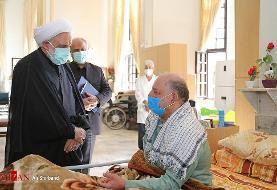 ملاقات رئیس قوه قضائیه با جانبازان | اژه ای: خانواده های جانبازان به اندازه یک شهید اجر می برند