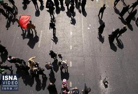 ویدئو / راهپیمایی اربعین؛ از میدان امام حسین تا حرم عبدالعظیم