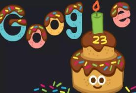 گوگل ۲۳ ساله شد