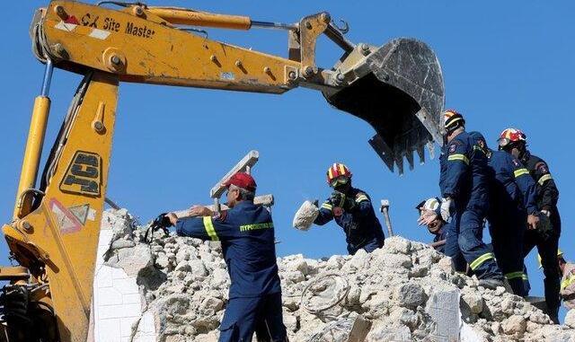 زلزله یونان کشته و مصدوم برجا گذاشت