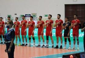 مراکش دوباره به جوانان والیبالیست ایران باخت
