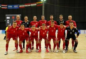 حذف میزبان جام جهانی فوتسال/ازبکستان حریف احتمالی ایران در یک هشتم نهایی