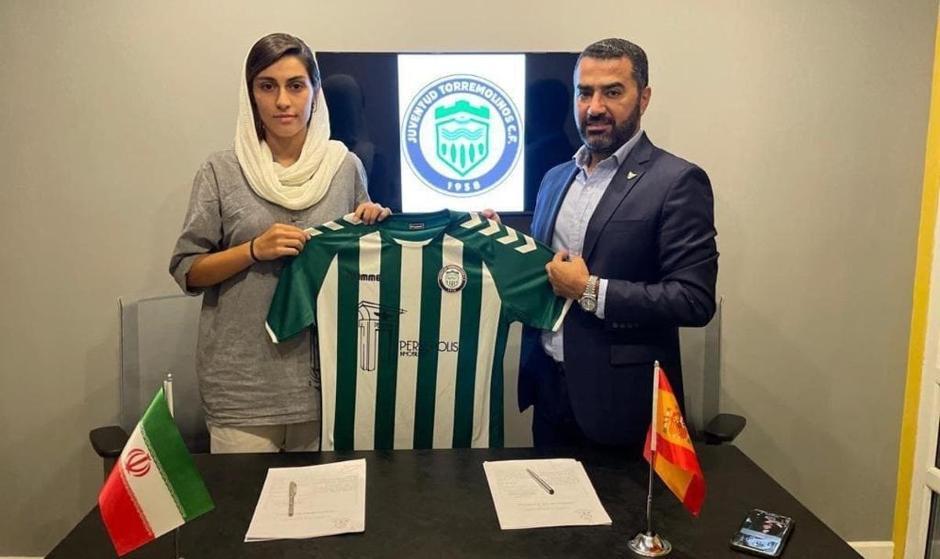 اروپا  یک دختر ورزشکار دیگر ایران را جذب کرد: صالحی پور بازیکن تیم ملی فوتبال ایران به تیم اسپانیایی پیوست