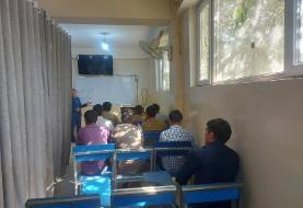 افغانستانِ طالبان؛ نصب پرده در کلاسهای دانشگاه/ بهت دانشجویان