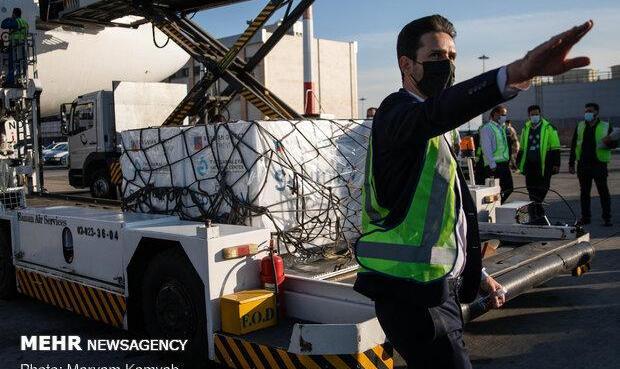بیستمین محموله واکسن کرونا تحویل وزارت بهداشت شد